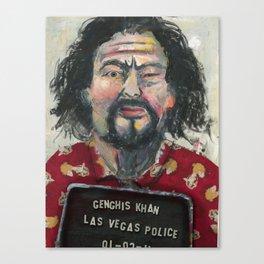 Genghis Khan's Vegas Arrest Canvas Print