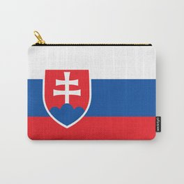 Slovakian Flag - High Quality Image Carry-All Pouch