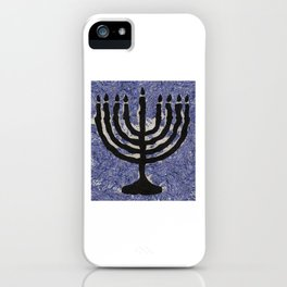 Menorah iPhone Case