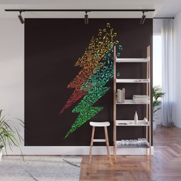 Electro music Wall Mural