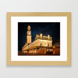 Luz Station Framed Art Print