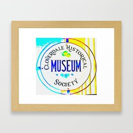 CMoH Sign Framed Art Print