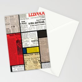 Mondrian's News Stationery Cards
