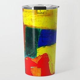 Equilibrium - Balance -Öl auf Leinwand Travel Mug