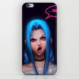 WTF Jinx iPhone Skin
