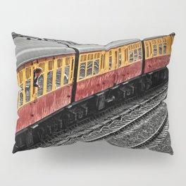 Waiting For A Train Pillow Sham