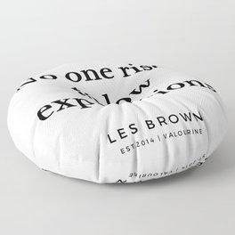 16 |  Les Brown  Quotes | 190824 Floor Pillow