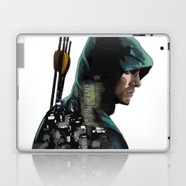 Green Arrow + Star City Laptop & iPad Skin