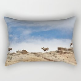 Big Horn Sheep Rectangular Pillow