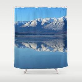 Turnagain Arm Mirror - Alaska Shower Curtain