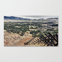 Border Fence Canvas Print