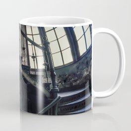 Twisted blue and gray staircase Coffee Mug