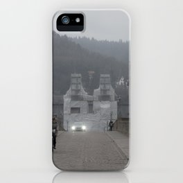 Heidelberg Cyclist iPhone Case