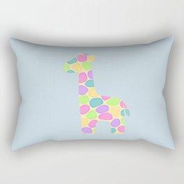 Gracie the giraffe Rectangular Pillow