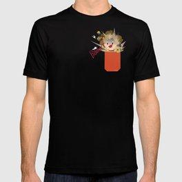 Pocket defense junk T-shirt