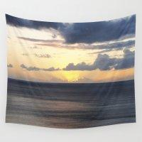 sail Wall Tapestries featuring Sail by Sarah Hebard