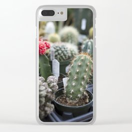 Cacti Clear iPhone Case