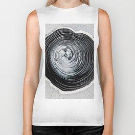 The Hole (Black and White) Biker Tank