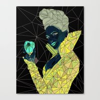 ouat Canvas Prints featuring Regina - OUAT by aesthetic_vampy