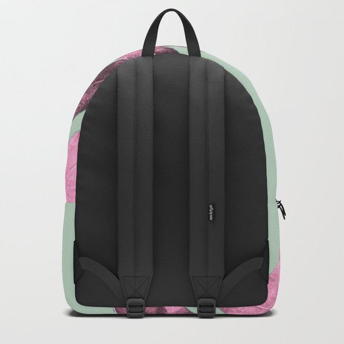 Sepia Fern Purple Backpack