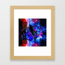 CELESTIAL BUTTERFLY 2 Framed Art Print