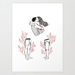 We should be together Art Print