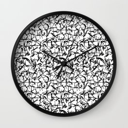 Truss Wall Clock