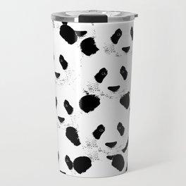 Panda pattern Travel Mug