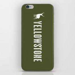 Deer: Yellowstone iPhone Skin