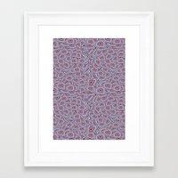 agate Framed Art Prints featuring agate  by kociara