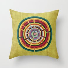 Lost in color Throw Pillow