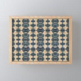 Natural Shibori Framed Mini Art Print