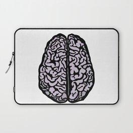 Brain (transparent) Laptop Sleeve