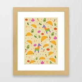 Taco Fiesta Framed Art Print