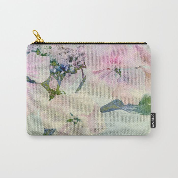 subtle hydrangea Carry-All Pouch