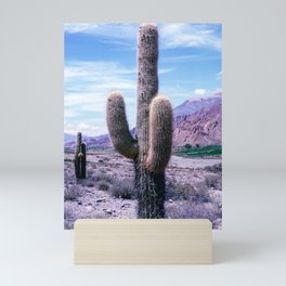 Cactus in Northern Argentina Mini Art Print