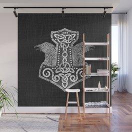 Mjolnir  - the hammer of Thor Wall Mural
