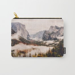 Amazing Yosemite California Forest Waterfall Canyon Carry-All Pouch