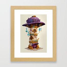 Tower House Framed Art Print