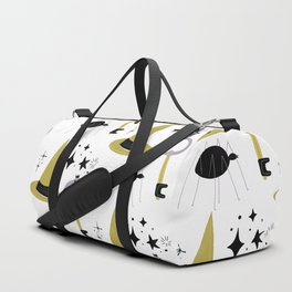 Happy haloween hats, keys, spiders and stars Duffle Bag