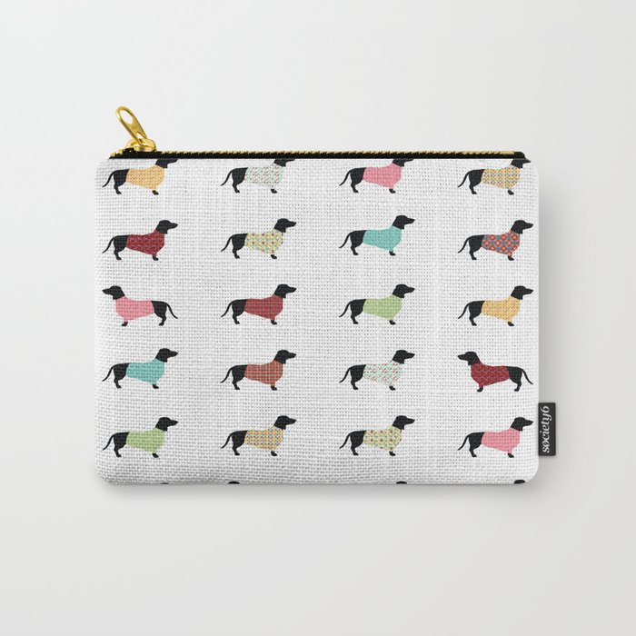 Dachshund - Sweaters #502 Carry-All Pouch