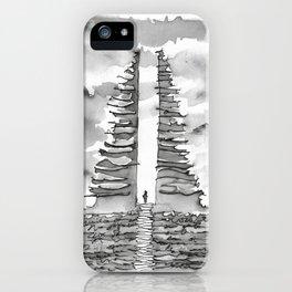 Candi Bentar iPhone Case