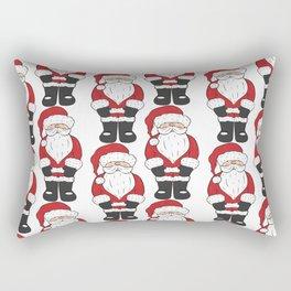 Santa, father Christmas art Rectangular Pillow