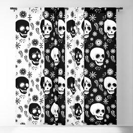 Skulls Blackout Curtain