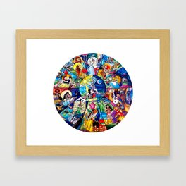 Wheel of Magic Framed Art Print