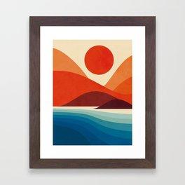 Seaside Framed Art Print