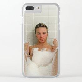 Buddy Bath Clear iPhone Case