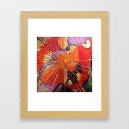Microcosms of the Sea Framed Art Print