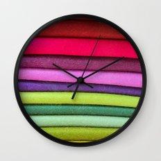 FABRIC FROLIC Wall Clock