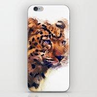 leopard iPhone & iPod Skins featuring Leopard by jbjart